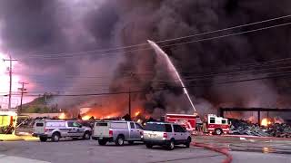 Ames Fire Update: Firefighters Continue Battling Flames - Parkersburg, WV