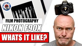 Nikon F90X 35mm Film Camera Overview - Shoot and Print