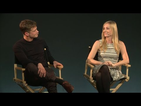 Ed Speleers and Joanne Froggatt: Downton Abbey - Meet the Cast by Apple Inc - Oct17th2013