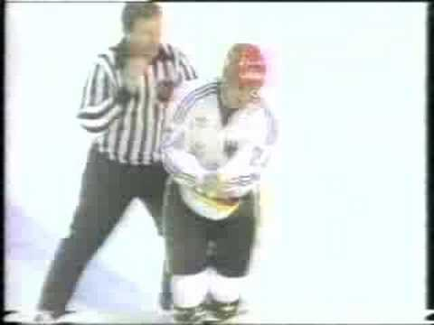 West Germany vs. Czechoslovakia fight Video