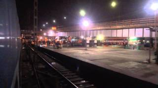 NIGHT TIME DEPARTURE FROM HOWRAH STATION BY SAMRASTA EXPRESS