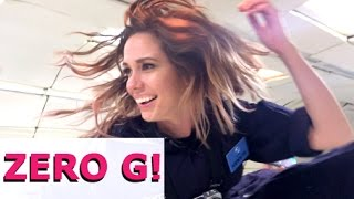 I Tried ZERO GRAVITY For 7+ MINUTES (Zero G Vlog)