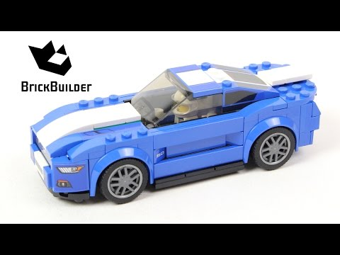 Lego Speed Champions 75871 Ford Mustang GT - Lego Speed build