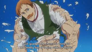 Seven deadly sins - Escanor VS Gowther [ENG SUB]