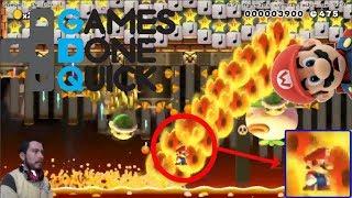 Increible pero cierto! Niveles de SGDQ Pt 2 Super Mario Maker