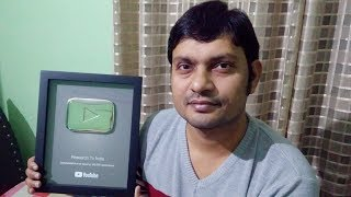 Received the Silver Play Button from YouTube