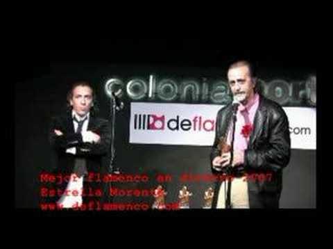 Mejor espectáculo de Flamenco en Directo. Estrella Morente