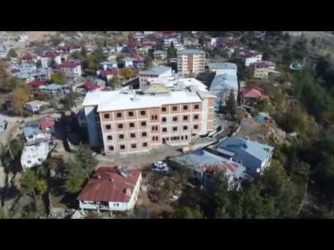 Aladağ'a Yurt Takviyesi...Yurt İnşaatı Havadan Görüntülendi