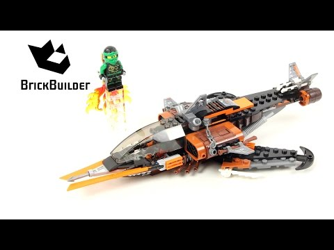 Lego Ninjago 70601 Sky Shark - Lego Speed build