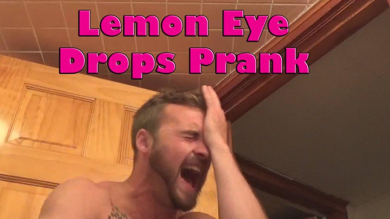 Lemon Eye Drops Prank