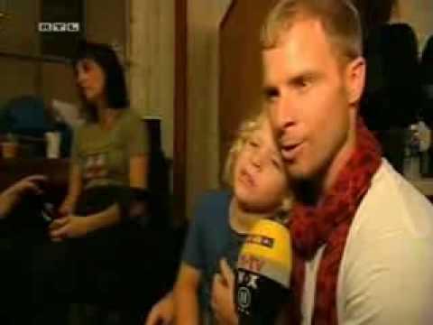 11-08-2009 Backstreet Boys RTL Punkt 12 - En el set del video STMH
