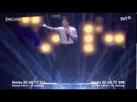 Alvaro Estrella - Bedroom - Melodifestivalen 2014