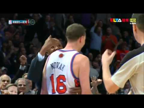 [ HD Highlight ] New York Knicks' 3-pts Rain ( 19 3-pts ) VS Celtics 2012.04.17
