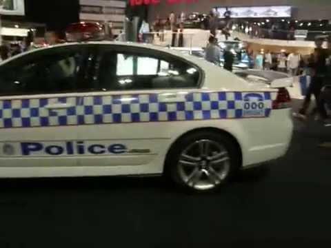 POLICE INTERCEPTOR GM VE PONTIAC G8 BASE US,UK,& MIDDLE EAST FANS