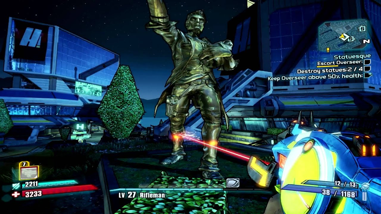 Borderlands 2 walkthrough - Statuesque - YouTube Borderlands 2 Walkthrough