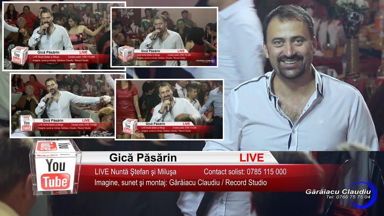 Gica Pasarin | Colaj VIDEO 46 min LIVE | Nunta Stefan si Milusa | Muzica de Petrecere