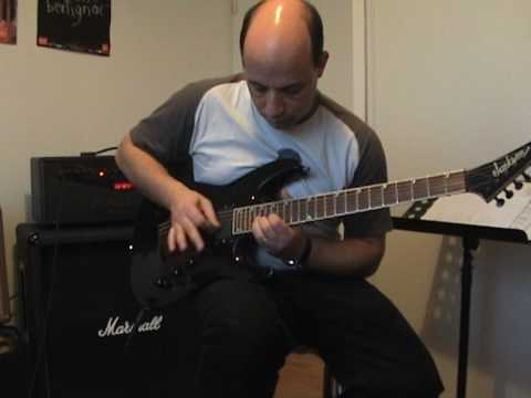 kee marcello cover superstitious guitar solo Europe
