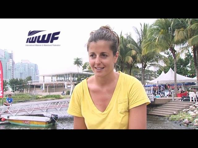 IWWF World Cup feature - Anais Amade