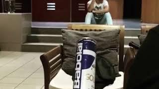 Trick Tennis Ball Shot || Viral Video UK