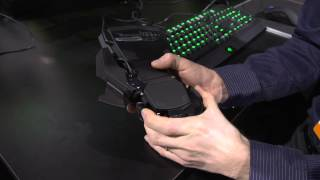 Razer Orbweaver Cherry MX Blue Mechanical Gaming Keypad - Linus Tech Tips CES 2013