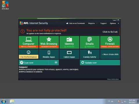 How to install AVG 2014 | Free Antivirus & Identity Protection | AVG Tutorial
