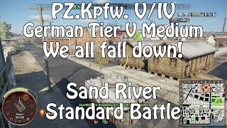 World Of Tanks || Xbox One || PZ.Kpfw. V/IV || And We All Fall Down!
