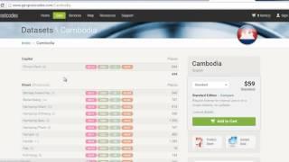 Postal code of cambodia