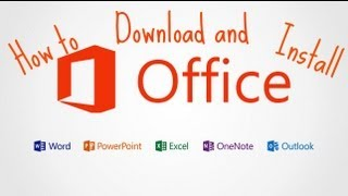 How to Download and Install Microsoft Office Proplus 2013 (Windows 8)