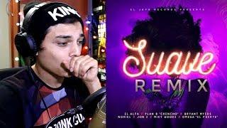 "El Alfa El Jefe - SUAVE (Remix) Ft. Chencho""Plan B"", Bryant Myers,Noriel, Jon Z, Miky Woodz Reaccion"