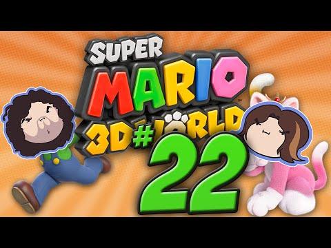 Super Mario 3D World: You Always Run Ahead! - PART 22 - Game Grumps