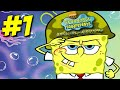 Youtube Thumbnail Spongebob Squarepants Battle for Bikini Bottom - Walkthrough Part #1