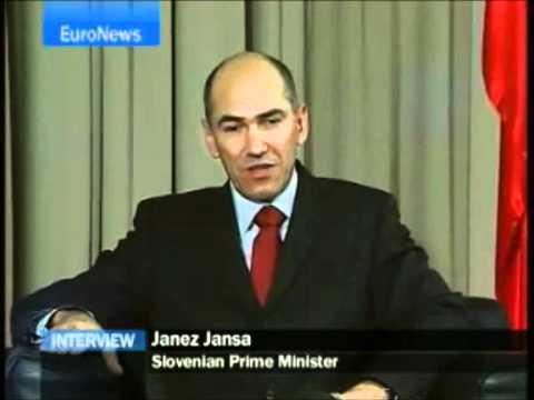 Janez Janša English