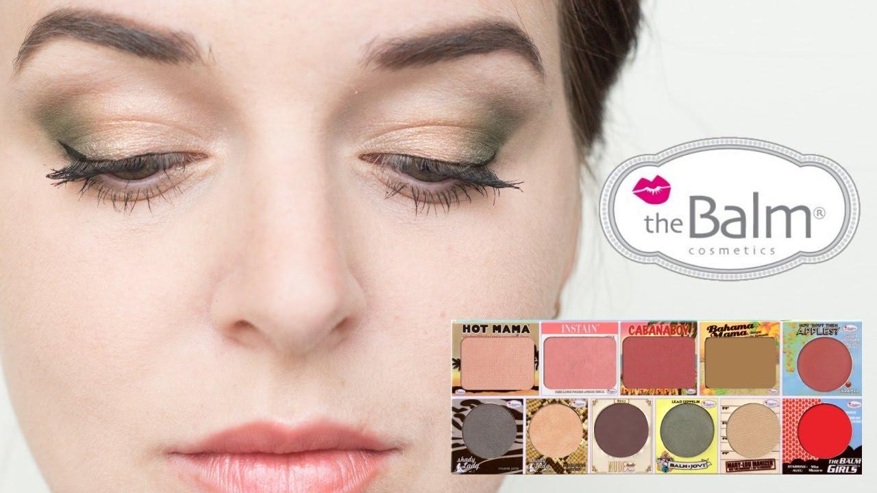 4 макияжа с палеткой in theBalm of your hand