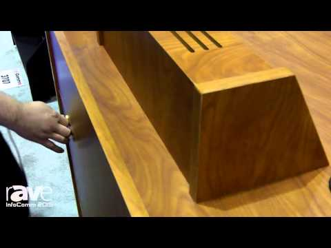 InfoComm 2015: Marshall Furniture Shows ELCO 35 Workstation