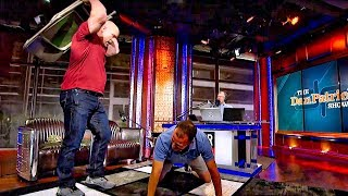 """Stone Cold"" Steve Austin Demonstrates Proper Folding Chair Attack Technique 