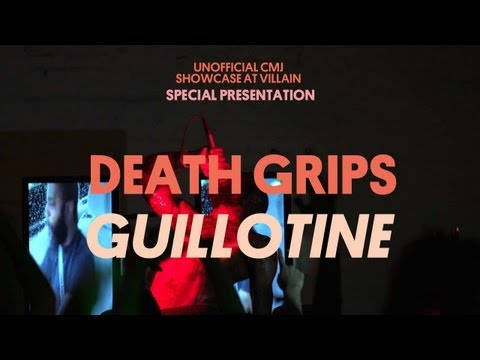 Death Grips Play &quot;Guillotine&quot; at Villain! - Special Presentation