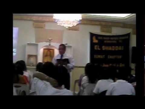 El Shaddai DWXI PPFI Kuwait Mission Power Explosion Sept.28,2012 Fellowship