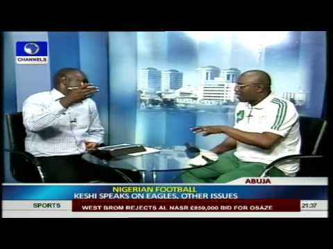 I love Super Eagles; It is In My Blood -- Stephen Keshi PT II