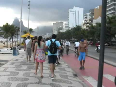 Praia do Leblon - Rio de Janeiro - Brasil - Maio 2010