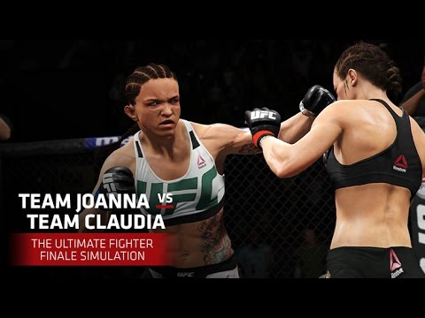 The Ultimate Fighter Finale | EA SPORTS UFC 2 Simulation – Joanna vs Claudia