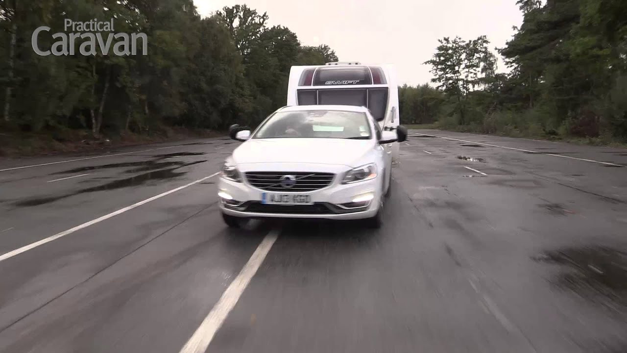 Practical Caravan | Volvo V60 | Tow Test 2013 - YouTube