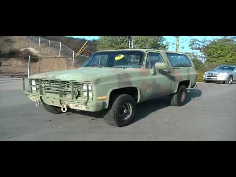 86 Chevy Blazer C10 4x4 Hunting Work Truck SUV 24 Volt Diesel Bio Camo Video