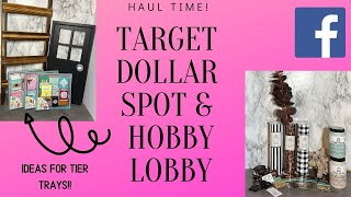 Target Dollar Spot | Target.com | Hobby Lobby Haul FUN FINDS Unicorn Item Ladder FOUND ❤️