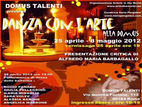 COLONNA SONORA DANZA CON L'ARTE ALLA DOMUS 2012.wmv