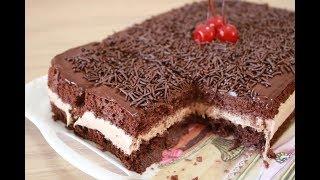 O MELHOR BOLO GELADO DE CHOCOLATE |   SUPER MOLHADINHO