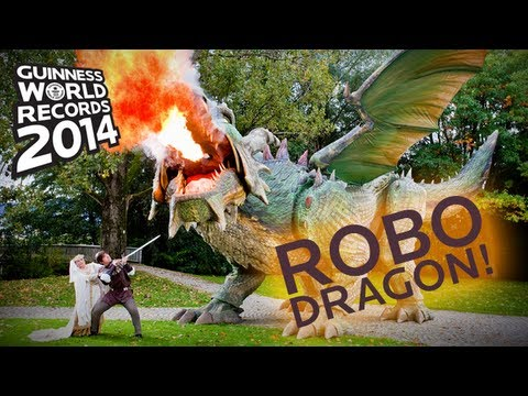 World's Largest Robot! - Guinness World Records 2014