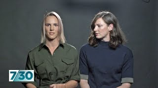 Swimmers Cate and Bronte Campbell talk about their relationship | 7.30