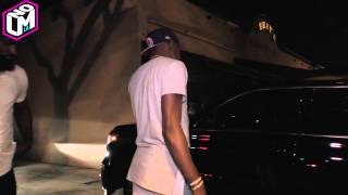 Kevin Durant Drops (what looks like) Weed Caught On Camera