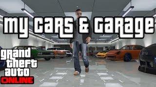 """GTA 5 Online Garage Show Case """"GTA Online"""" 10 Car Garage"""