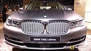 2016 BMW 7-Series 750Li xDrive - Exterior and Interior Walkaround - 2015 Frankfurt Motor Show